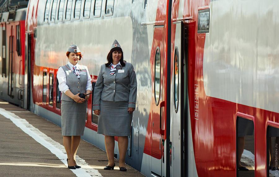 3. Для обслуживающего персонала это первый выезд на новом составе. Первый рейс с пассажирами пойдет