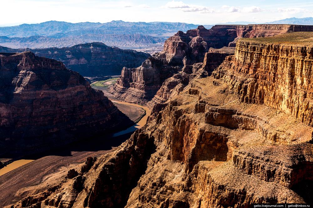 Большой каньон и Лас-Вегас с высоты