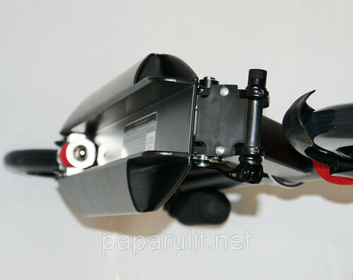 Самокат для взрослых Urban scooter 2728 с большими колесами и амортизаторами
