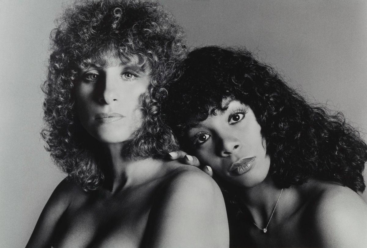 Barbra Streisand and Donna Summer.