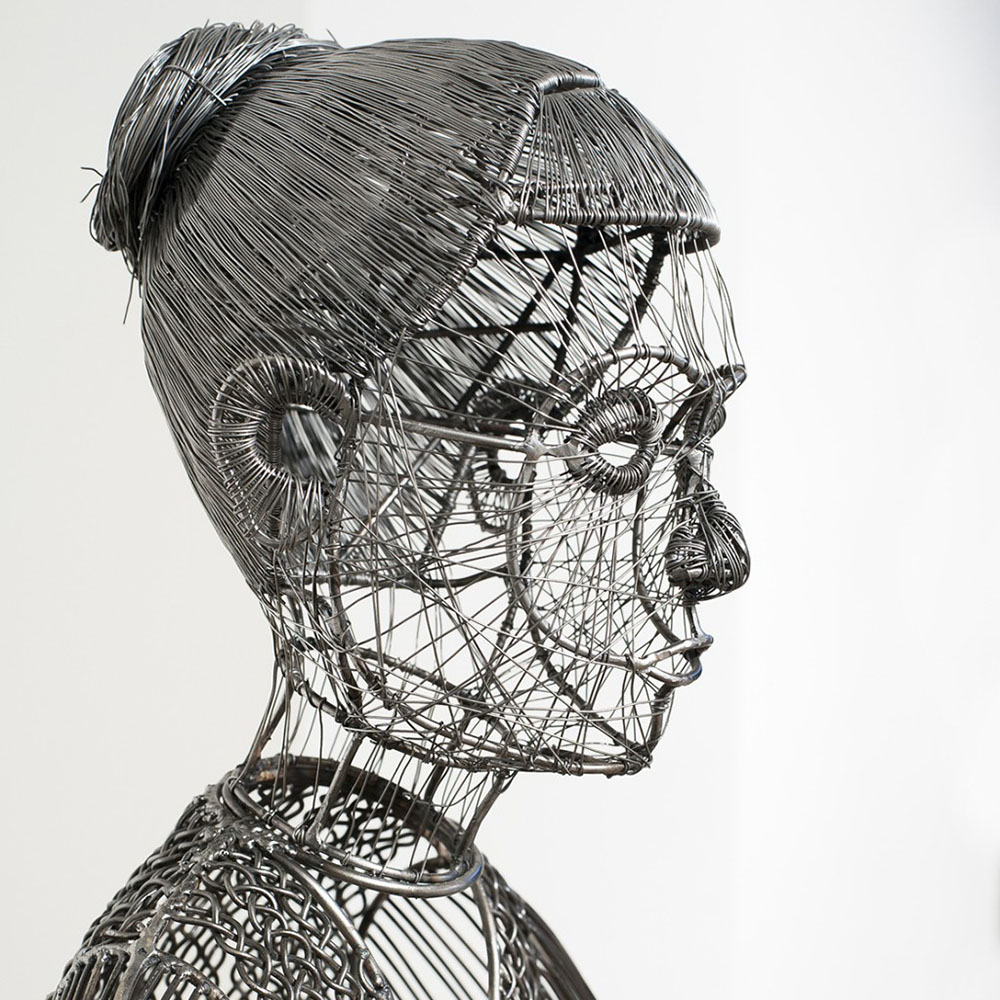 The Sculpted Wire Figures of Roberto Fanari (11 pics)
