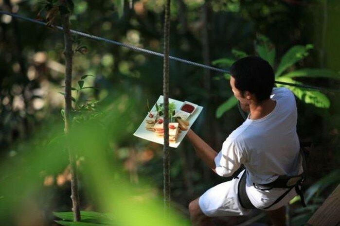 Soneva Kiri— ресторан на вершине дерева в Таиланде