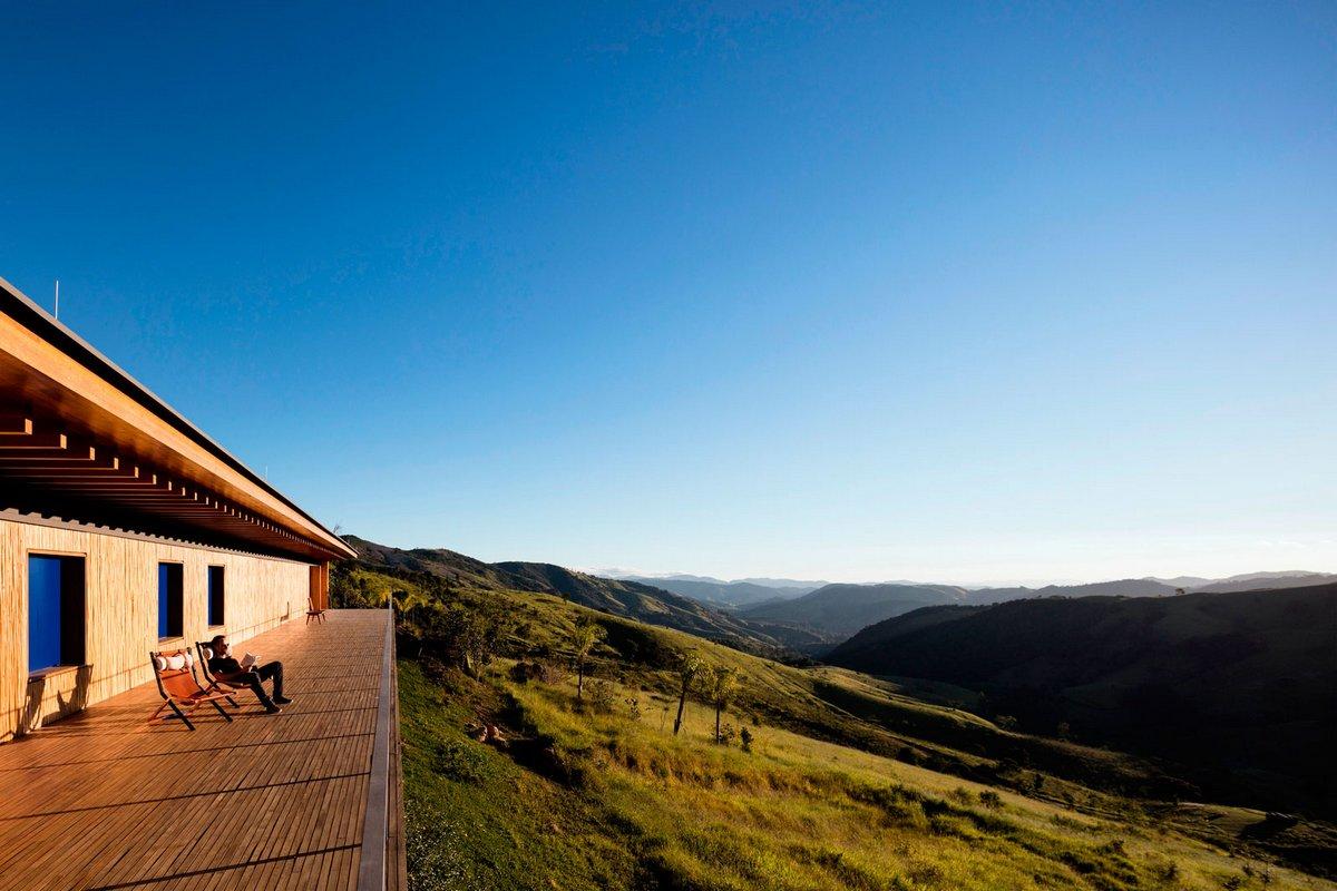 Частный дом с видом на долину