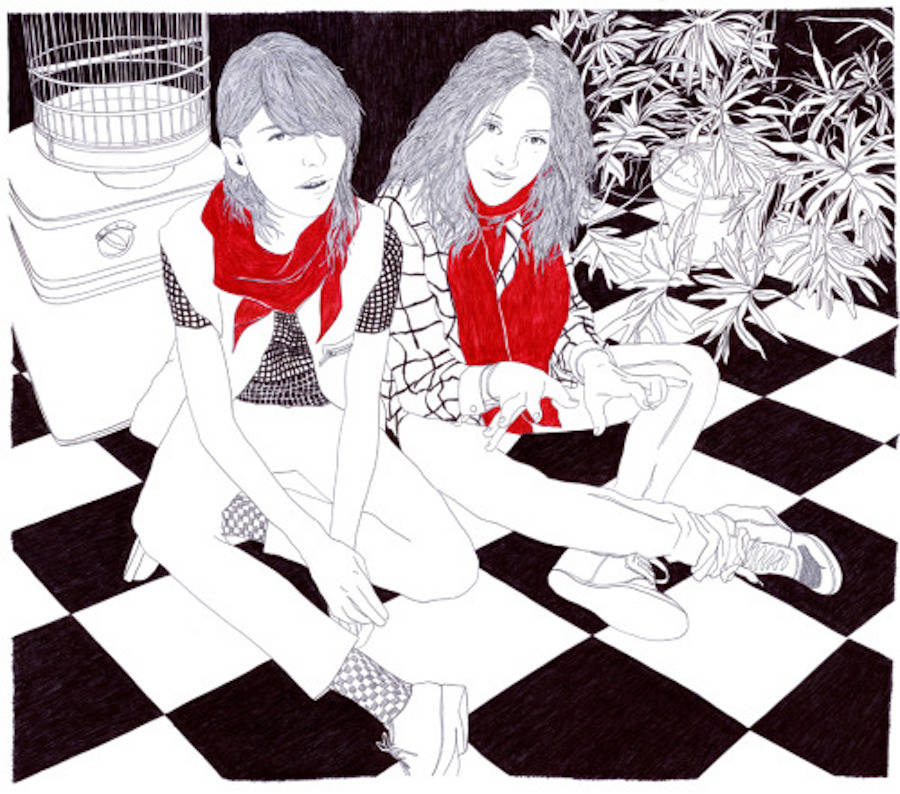Bewitching Nonchalant Pen Illustrations