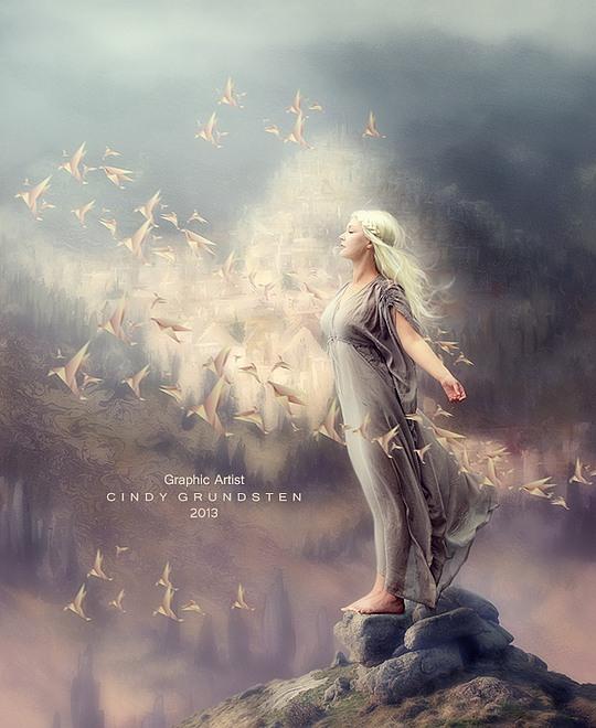 Amazing Digital Art by Cindy Grundsten