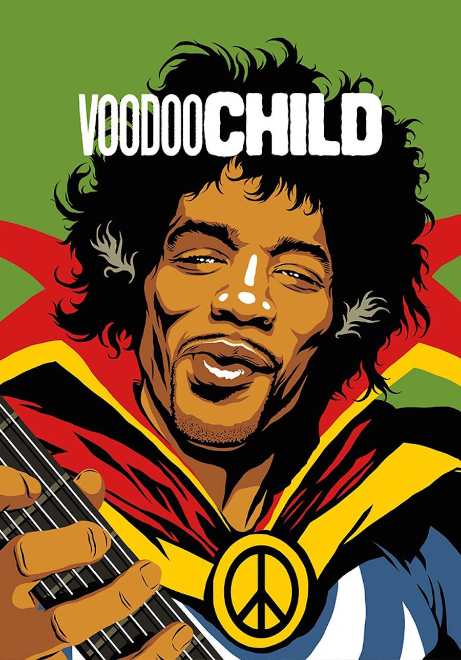 Famous Guitarists and Singers Turned into Super Heroes