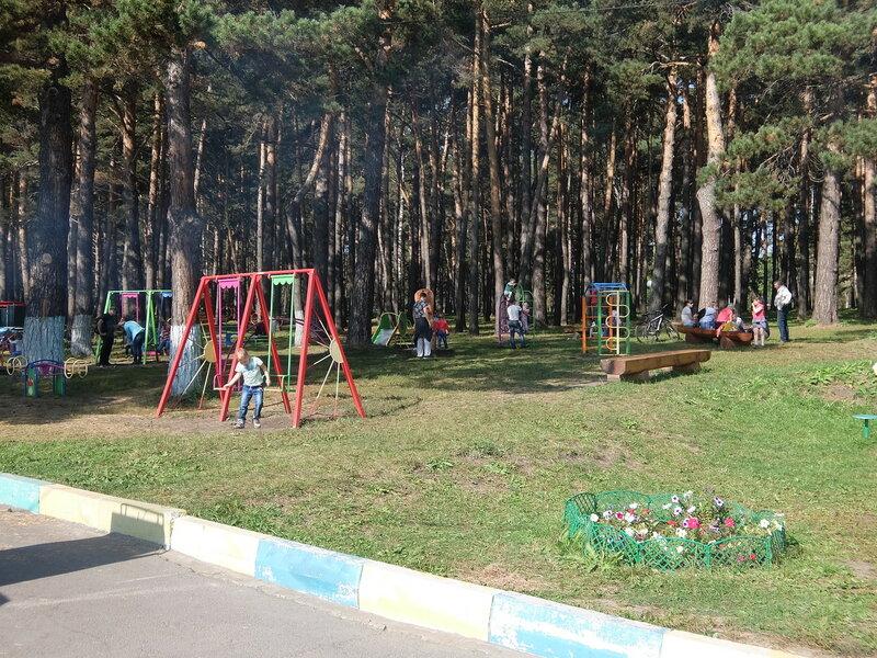 Зенковский парк - Развлечения для детей