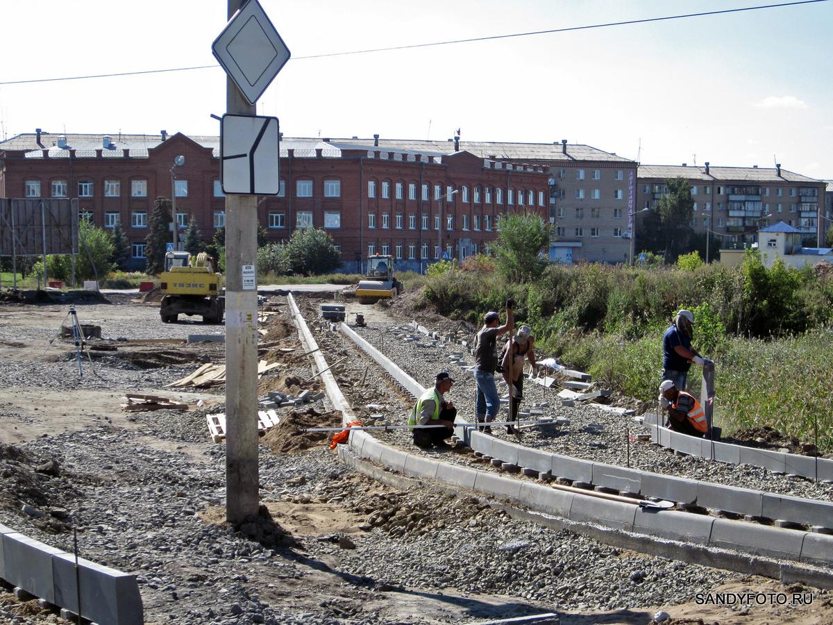 Реконструкция перекрёстка возле старого  моста #2