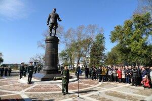 маршалу Василевскому - памятник в Хабаровске.jpg