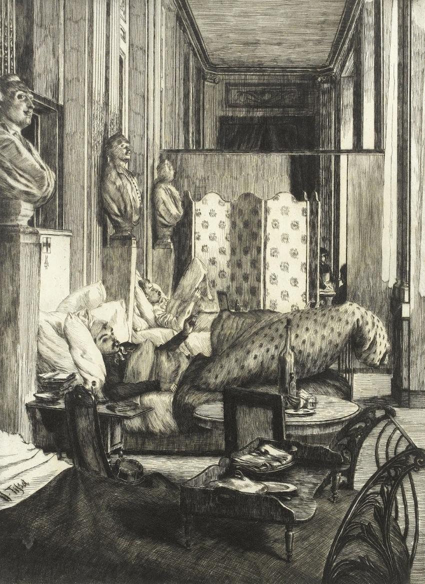 1877 Фойе Комеди-Франсез офорт, сухая игла.jpg