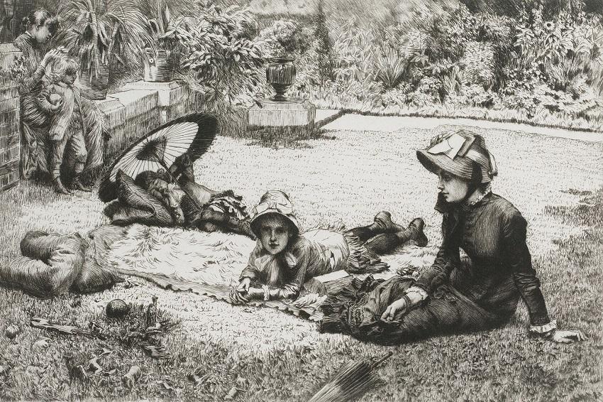 1881 На солнцепеке (En plien soleil (Wentworth 54)