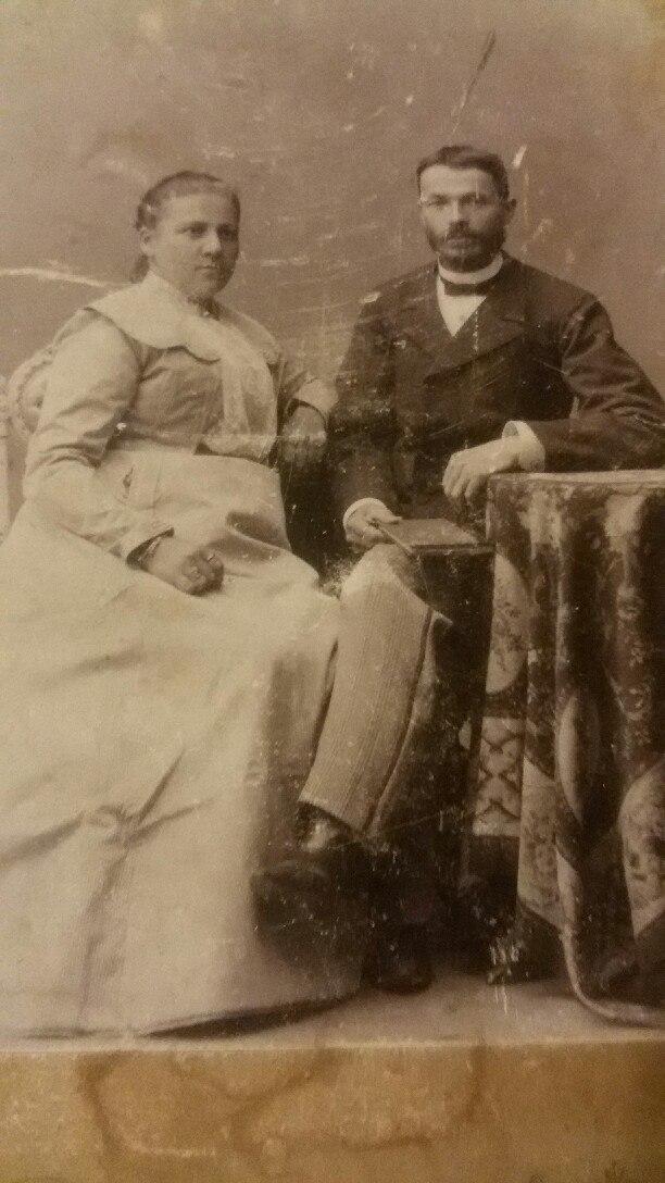 Михаил Дмитриевич и Ольга Васильевна Рябковы