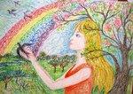 Гринёва Дарья (рук. Клышко Фрида Борисовна) - Весна
