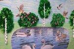 """Группа """"Непоседы"""" (рук. Соболева Кира Валерьевна) - Коллективная работа """"Перелетные птицы"""""""