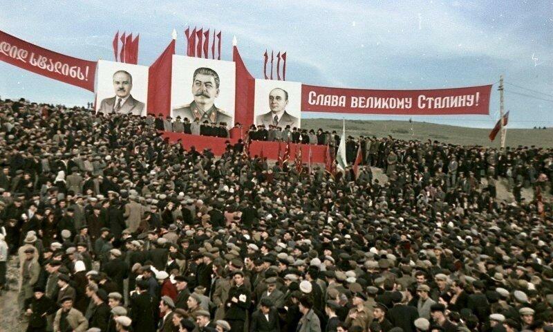 1951, 4 ноября, Открытие Верхне-Самгорского магистрального канала. Владислав Микоша1а.jpg