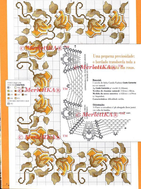 Вышивка на португальском