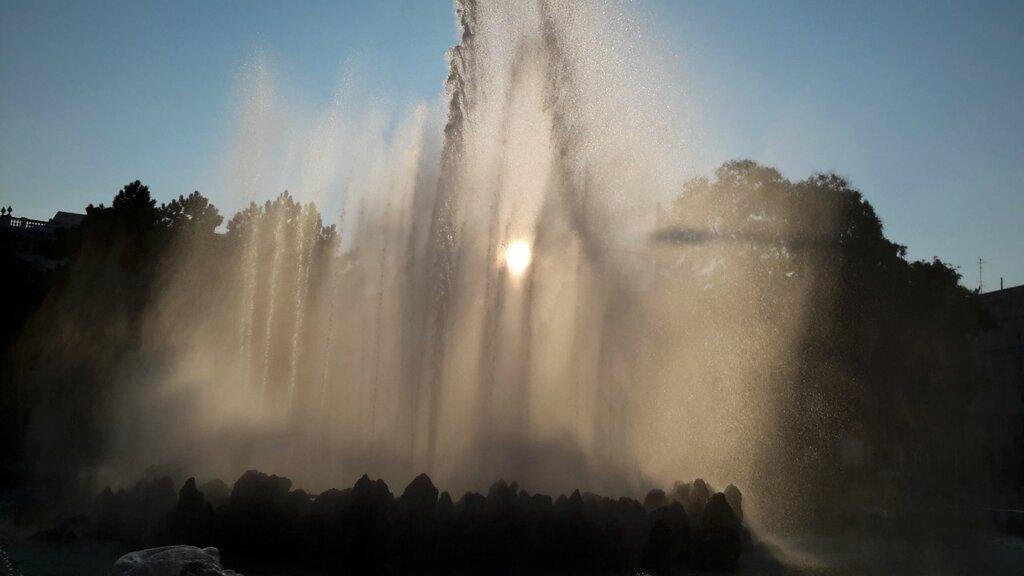 фонтан Высокие струи