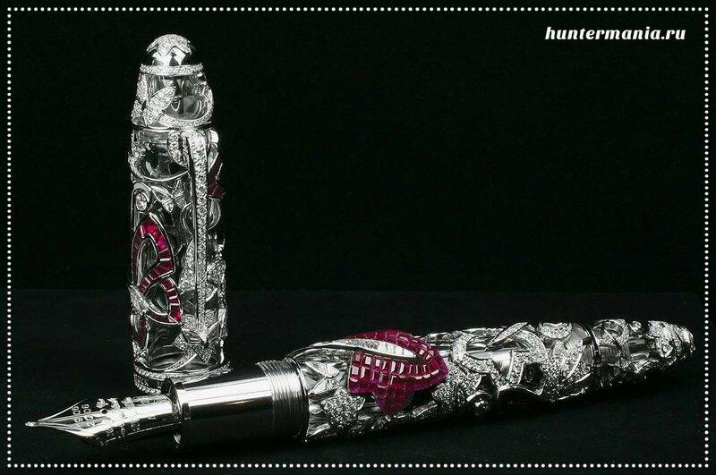 Очень дорогая ручка Limited Edition Mystery Masterpiece от Montblanc и Van Cleef & Arpels