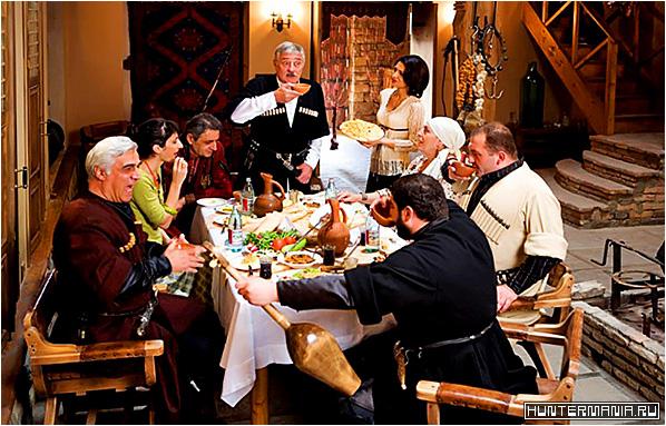 О блюдах грузинской кухни