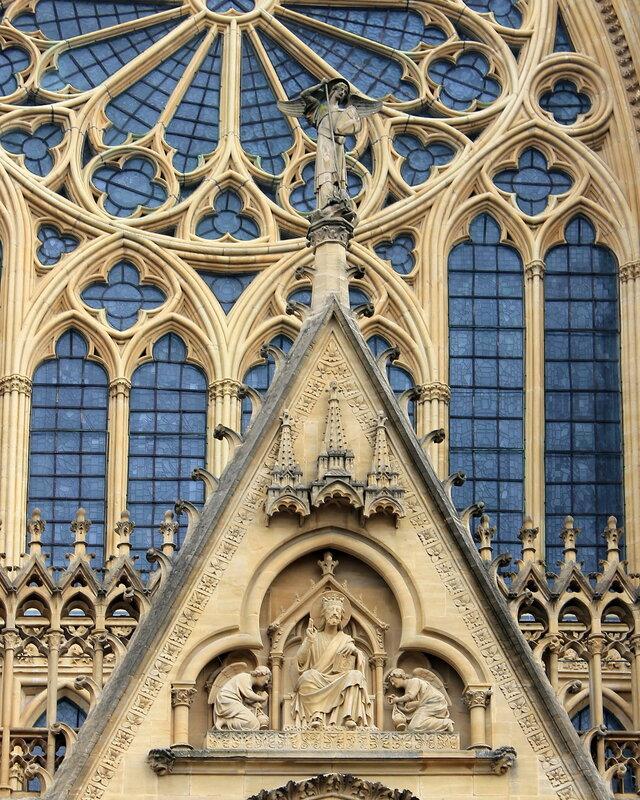Мец. Собор Святого Стефана (Cathédrale Saint-Étienne de Metz)