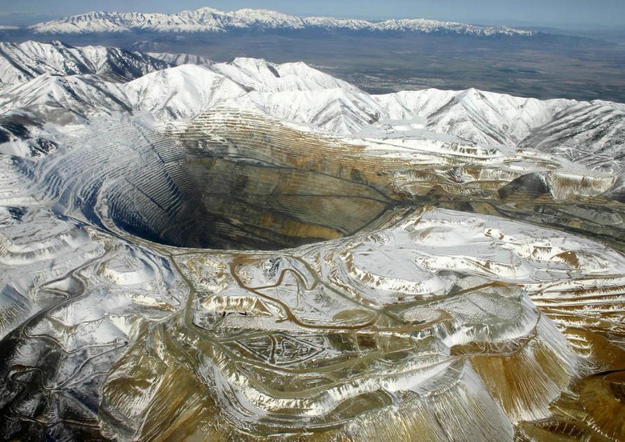 1. Бингем-Каньон В американском штате Юта находится Бингем-Каньон, считающийся самой огромной дырой