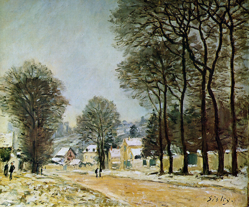 Sisley Alfred Louveciennes in the snow Sun.jpeg