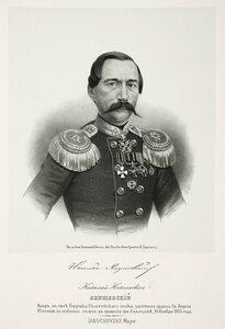Николай Николаевич Янушевский, майор, в чине поручика Белостокского полка