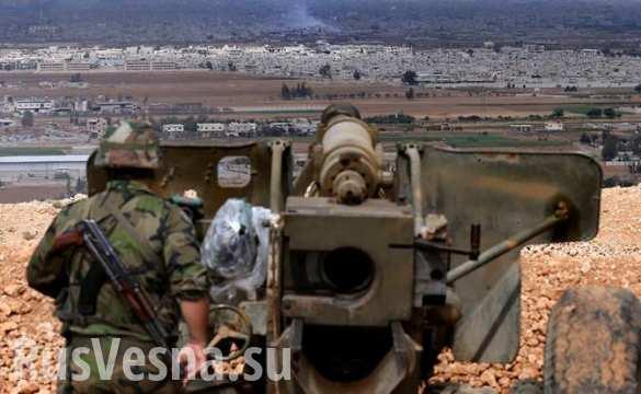 Исламские боевики вошли вгород, считающийся оплотом сирийской оппозиции