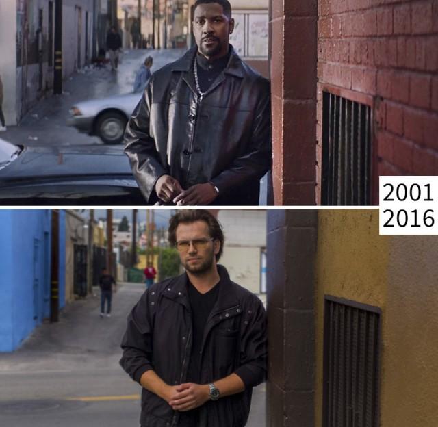 как меняются известные места из фильмов