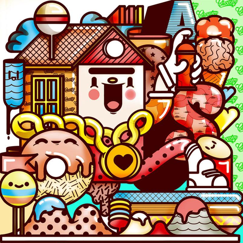 Cute Illustrations by Luis Albornoz