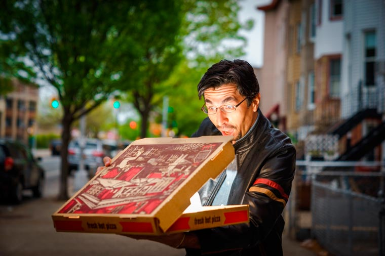 Order of the Slice - A photographer pays tribute to the Pizza and its worshipers