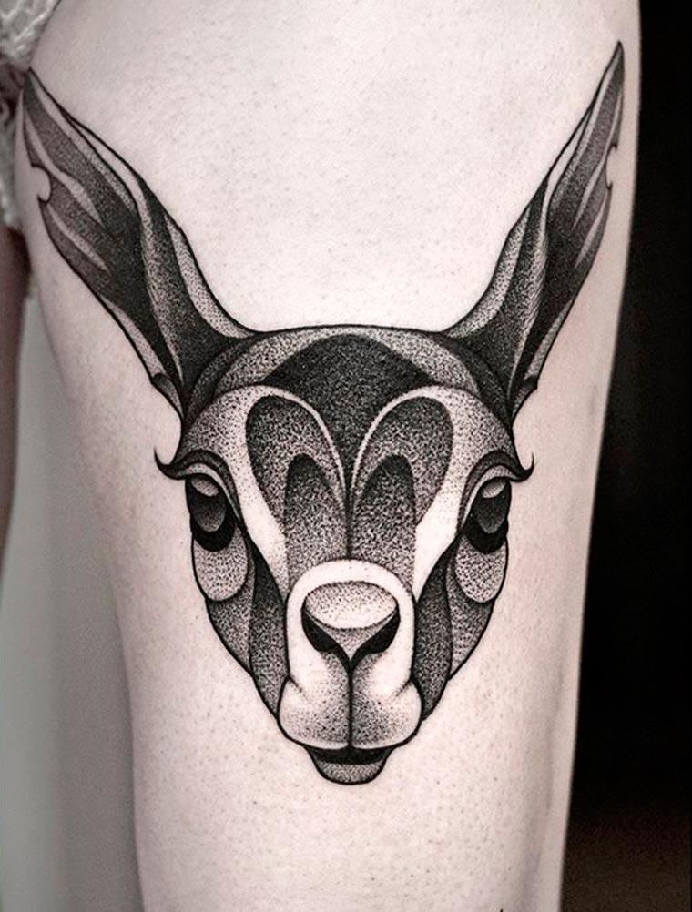 The tattoos of Kamil Czapiga