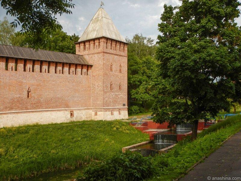 Каскад около башни Бублейка, Лопатинский сад, Смоленск