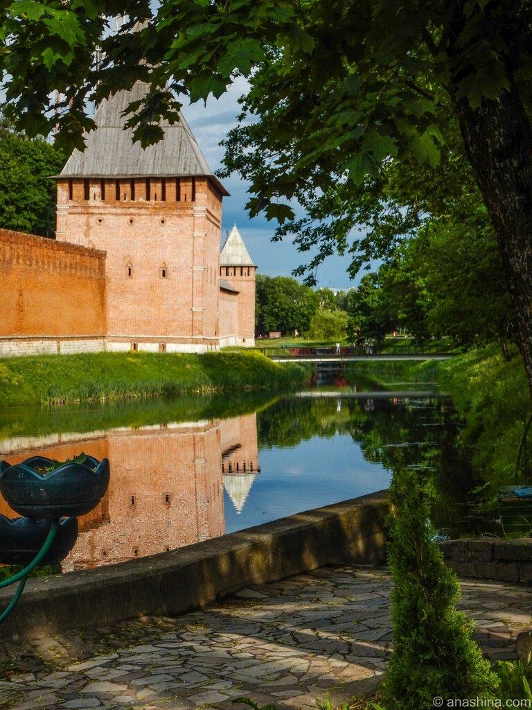 Стены и башни, Смоленская крепость, Смоленск
