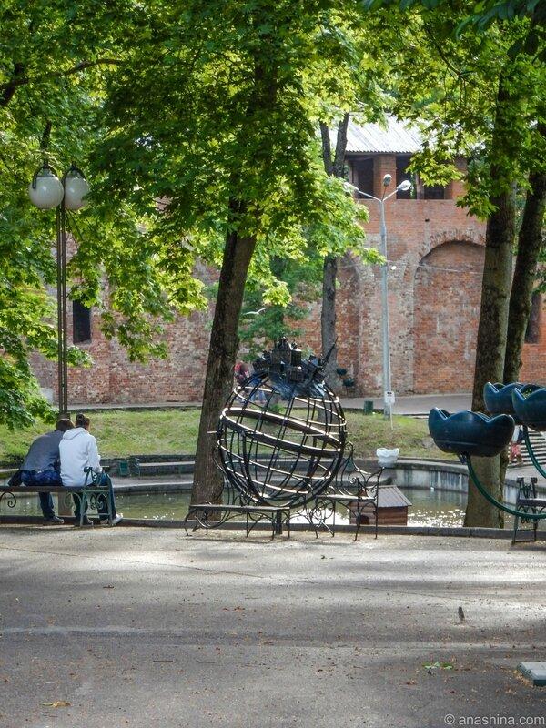 Глобус, Лопатинский сад, Смоленск