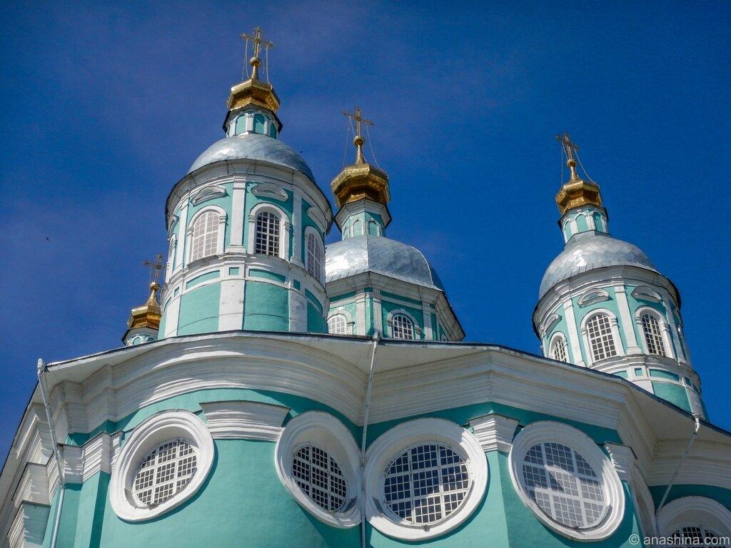 Купола Успенского собора, Смоленск