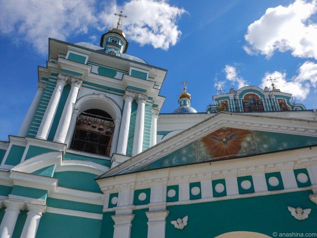 Панорама церковных строений Успенского собора, Смоленск