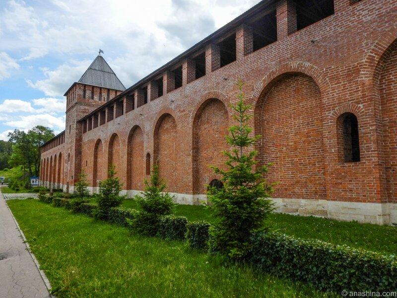 Крепостная стена и Шеинов бастион, Смоленск