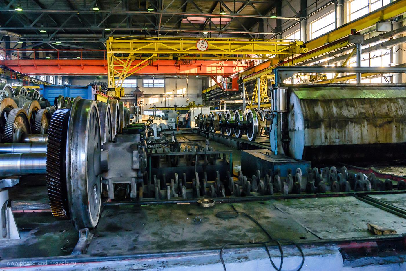 Цех по ремонту колесных пар