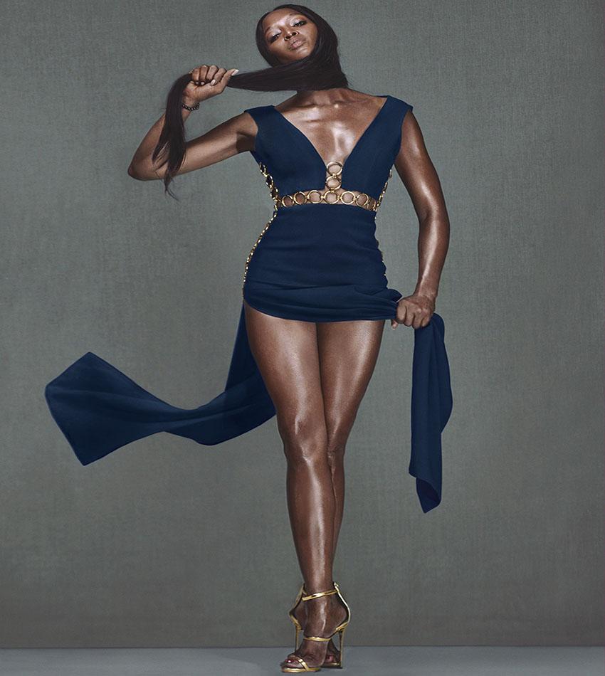 Naomi Campbell - W Magazine (December 2016)