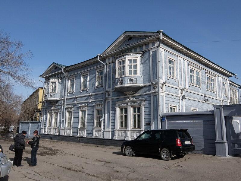 Иркутск - Усадьба Волконских