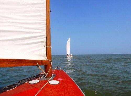 Хождение яхтенное. Июль. Море Азовское. 2016-07-28