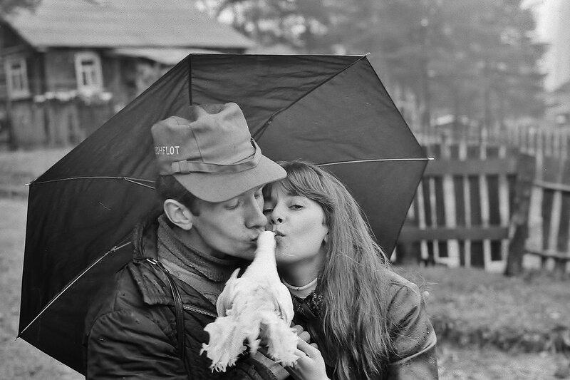 Любовь и голуби. Медвежьегорск 1983 г.