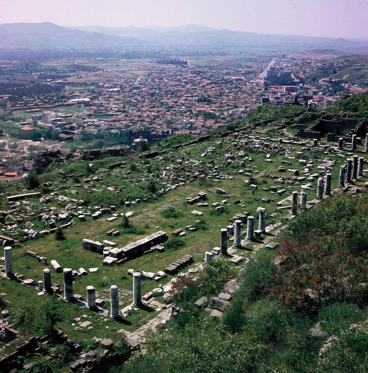 Пергам. Храм Афины