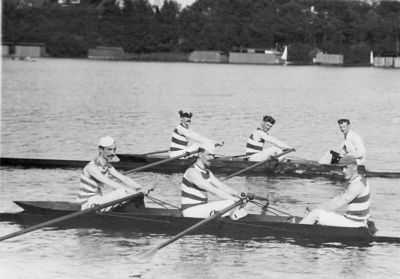 08. Общий вид лодок во время соревнований