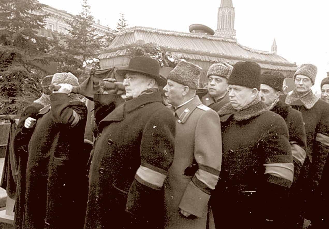Москва. Похороны Сталина
