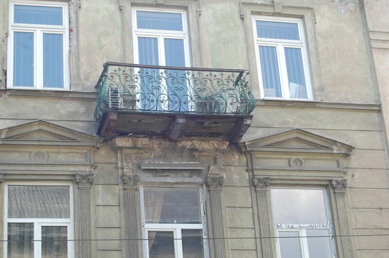 львовские балконы