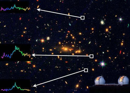 Астрофизиками обнаружена самая тусклая галактика Вселенной