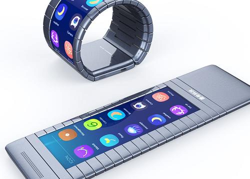 В Китае создадут смартфон, сворачивающийся в браслет