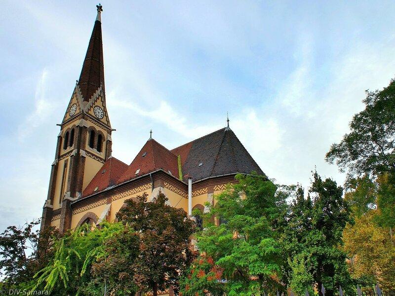 Лютеранская церковь в Будапеште